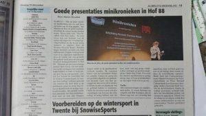 Almeloos Weekblad 2016-12-20